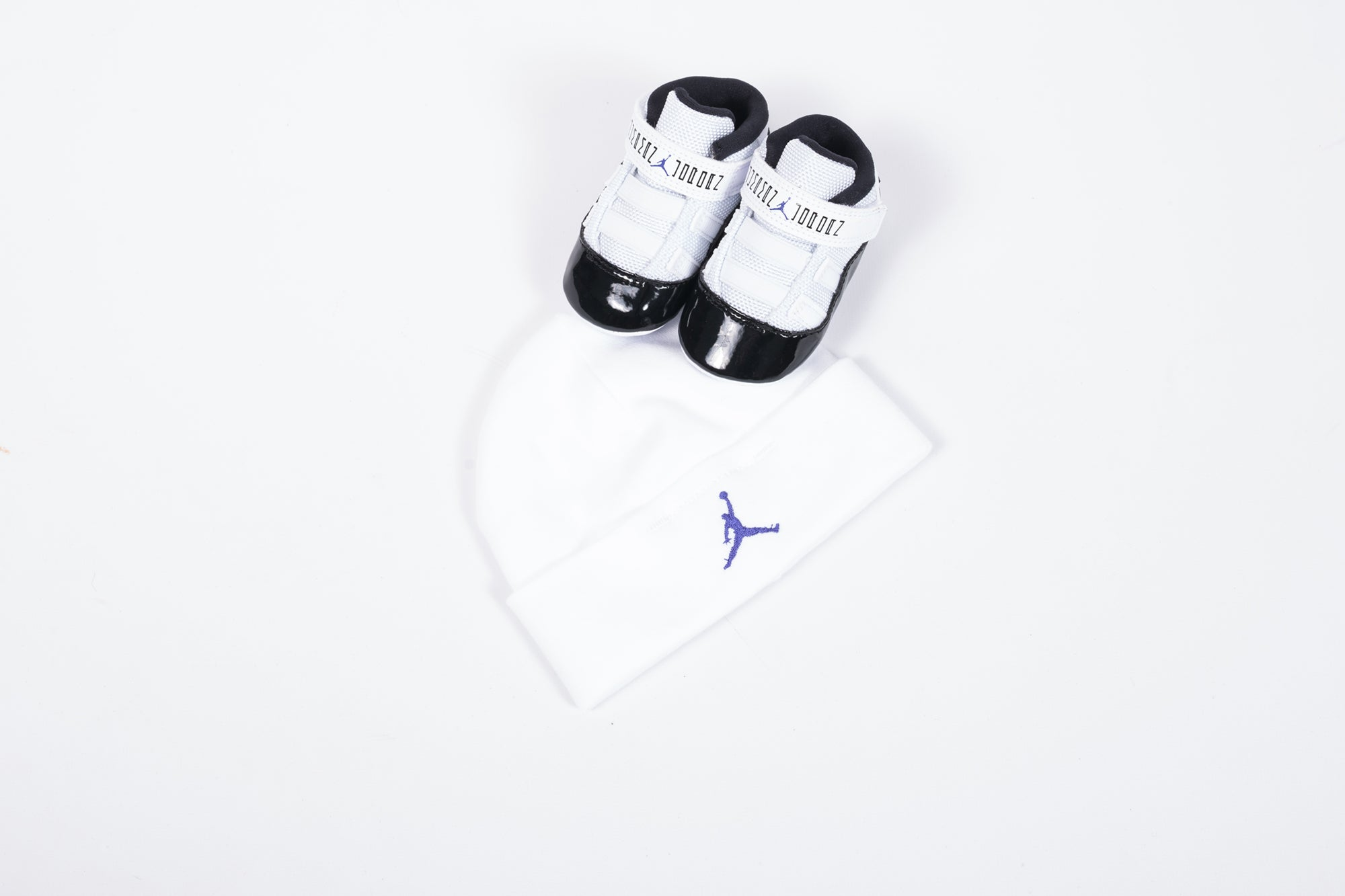 "AIR JORDAN 11 RETRO GIFT PACK (CRIB) ""CONCORD"""