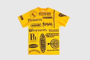 PLEASURES LOGORAMA T-SHIRT