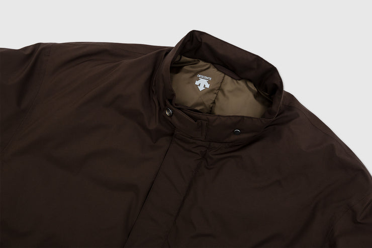 DESCENTE PAUSE STAND COLLAR DOWN COAT