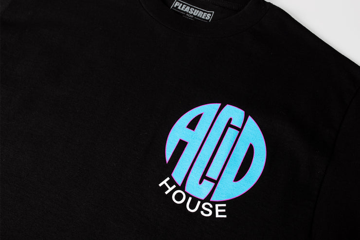 PLEASURES ACID HOUSE S/S T-SHIRT