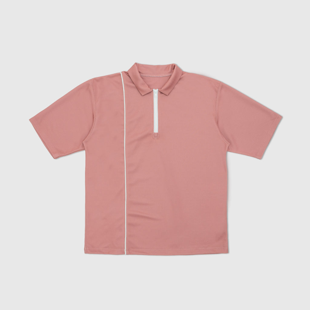 WHIM GOLF 1/4 ZIP WICKAWAY GOLF SHIRT