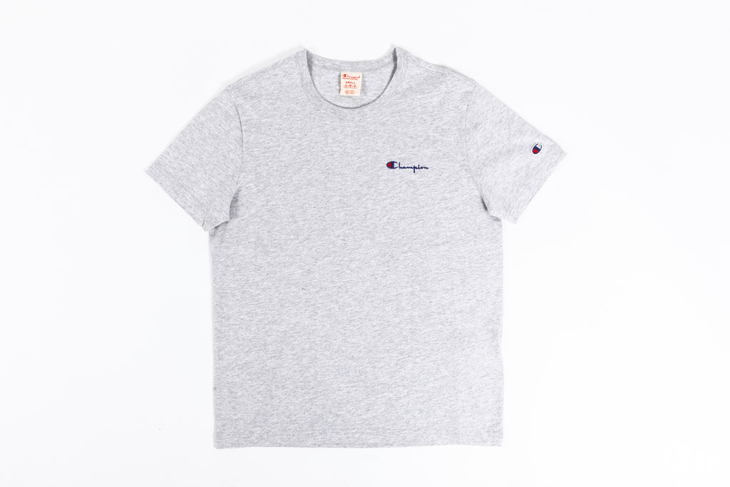 CHAMPION REVERSE WEAVE SMALL SCRIPT LOGO S/S T-SHIRT