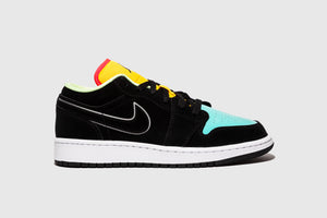 "AIR JORDAN 1 LOW SE (GS) ""AURORA GREEN"""