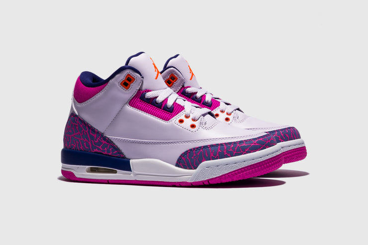 "AIR JORDAN 3 RETRO (GS) ""BARELY GRAPE"""