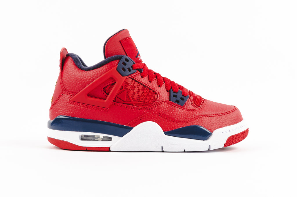 "AIR JORDAN 4 RETRO (GS) ""FIBA"""