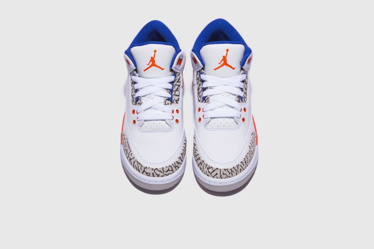 "AIR JORDAN 3 RETRO (GS) ""KNICKS"""