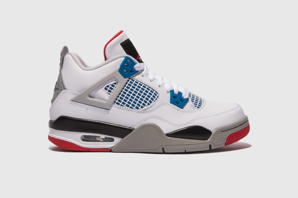"AIR JORDAN 4 RETRO (GS) ""WHAT THE ?"""