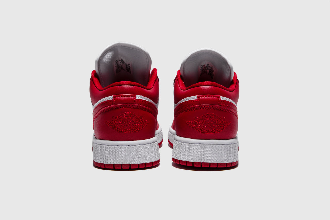 "AIR JORDAN 1 LOW (GS) ""GYM RED"""