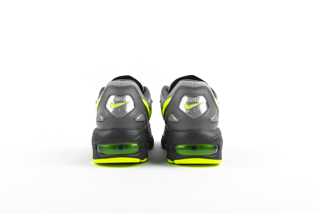 "NIKE AIR MAX2 LIGHT ""GUNSMOKE/VOLT"""