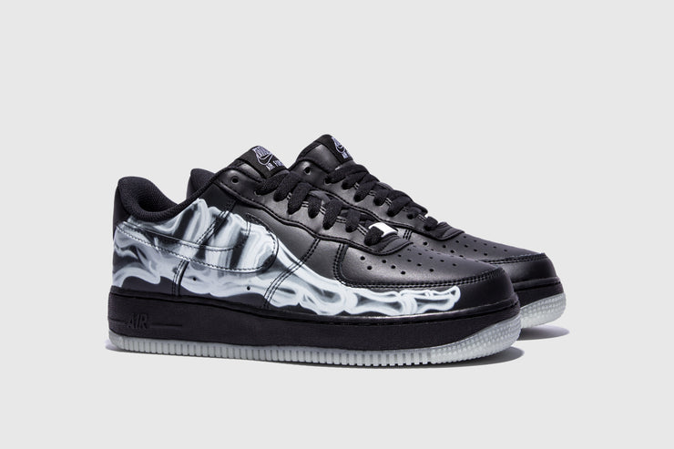 "NIKE AIR FORCE 1 '07 SKELETON QS ""HALLOWEEN"""