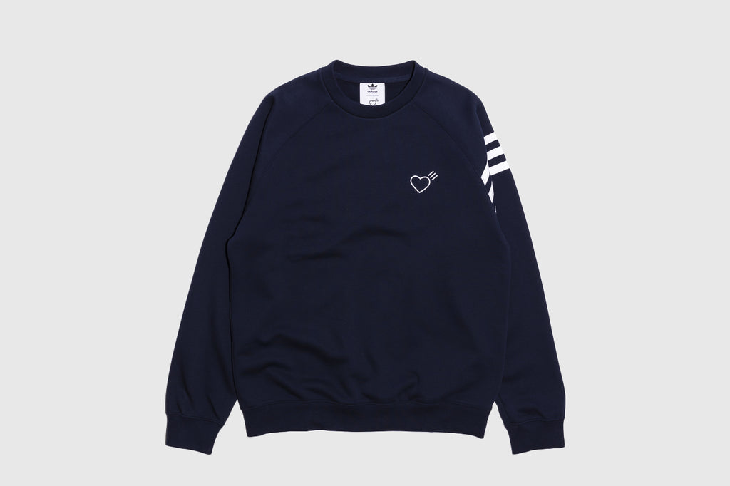 ADIDAS ORIGINALS SWEAt SHIRT X HUMAN MADE