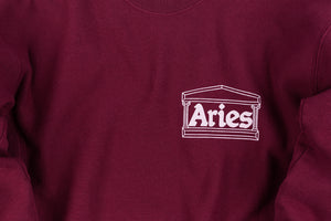ARIES CLASSIC TEMPLE CREW SWEATSHIRT