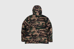 STUSSY SHELL HOODED JACKET