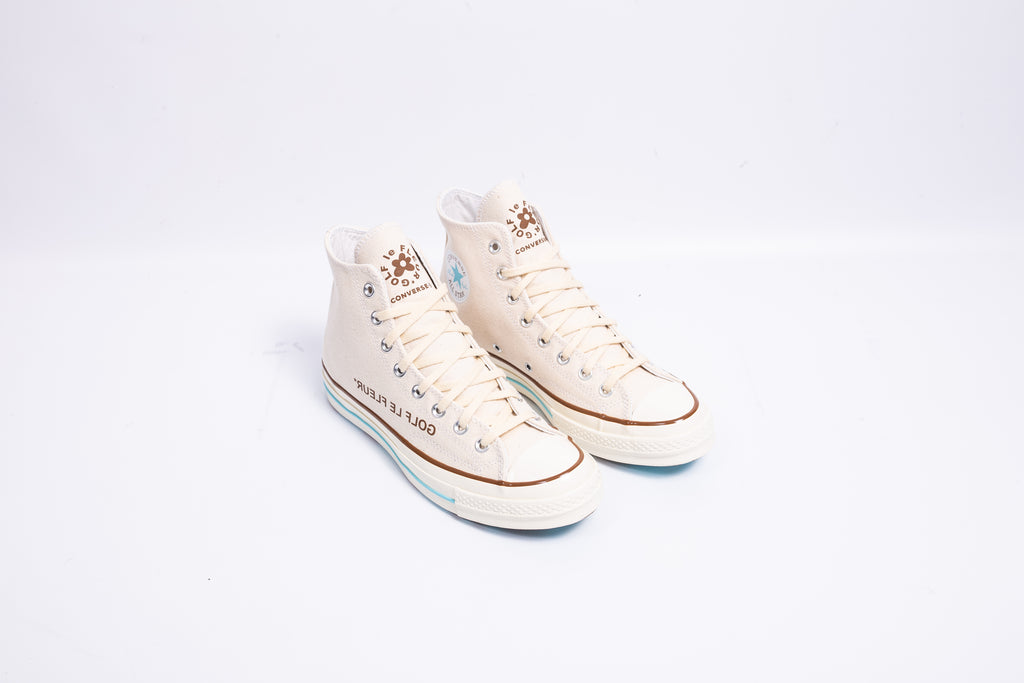 "CONVERSE CHUCK 70 HI X GOLF LE FLEUR ""BURLAP COLLECTION"""