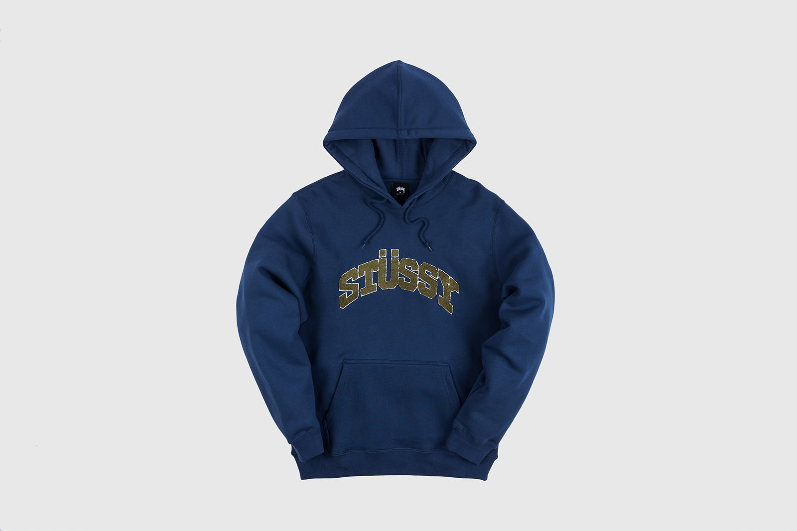 STUSSY CHENILLE ARCH APPLIQUE HOODY