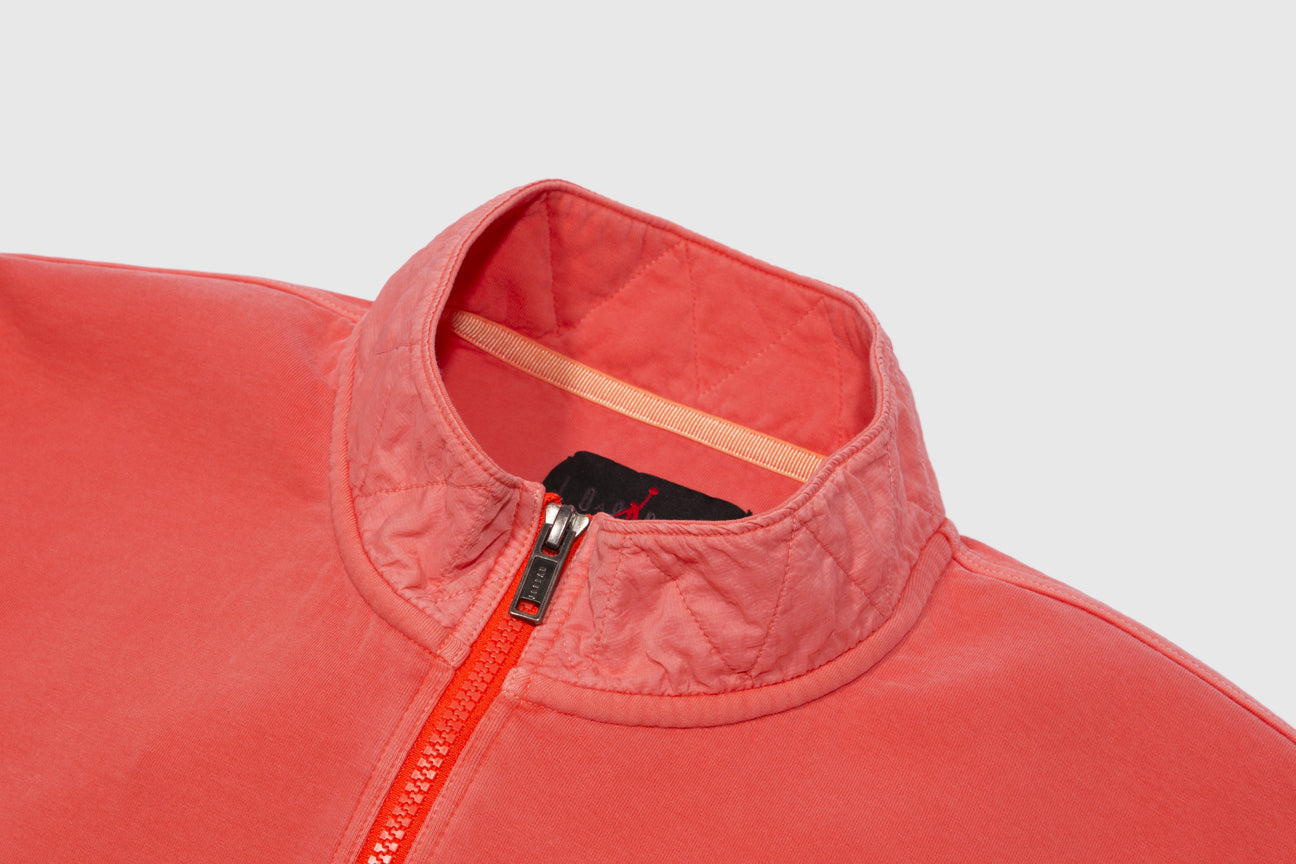 "JORDAN 23 ENGINEERED HALF ZIP SWEATER ""INFRARED"""