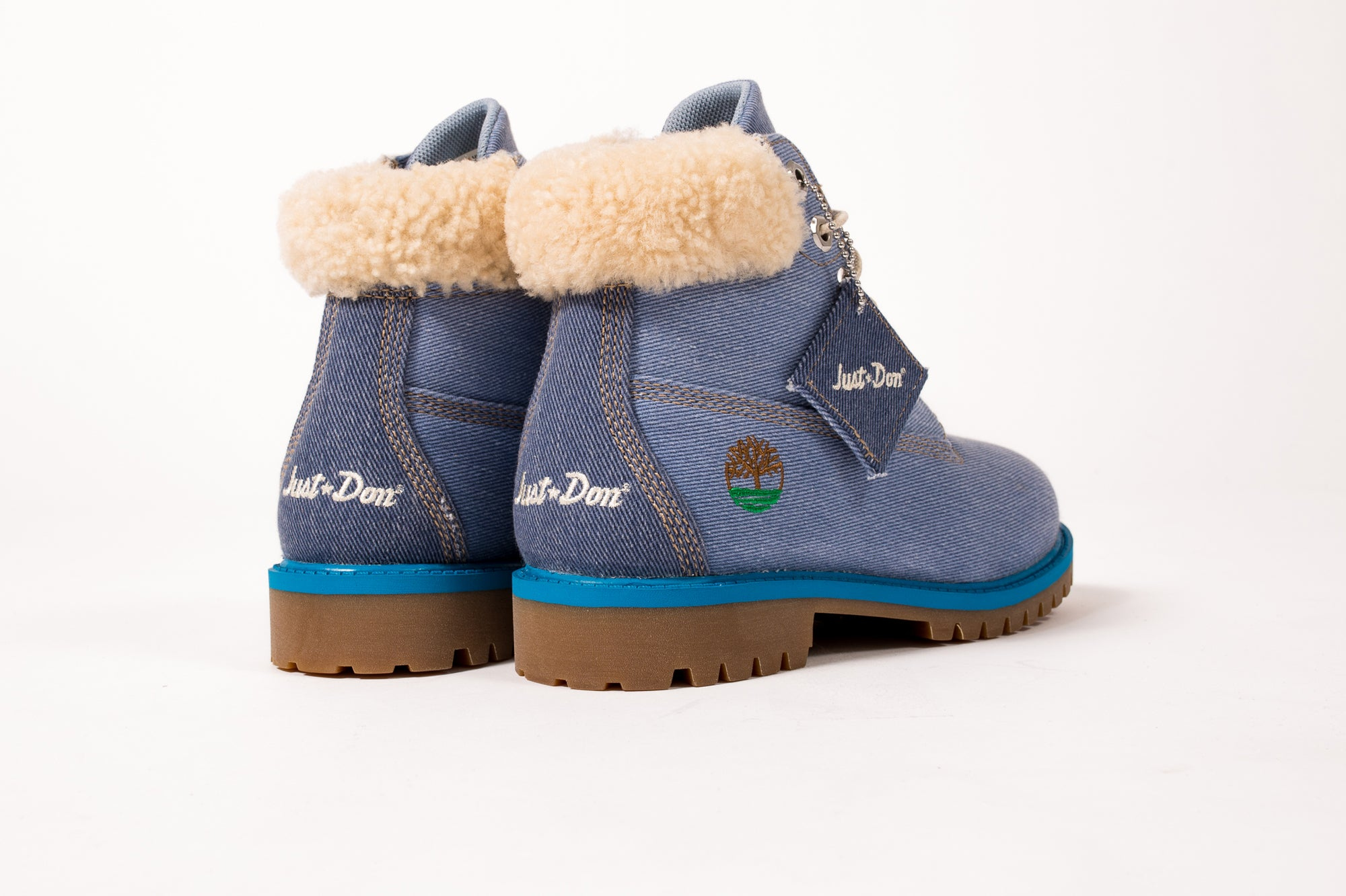 "TIMBERLAND JUNIOR'S 6IN FABRIC BOOT ""JUST DON"""