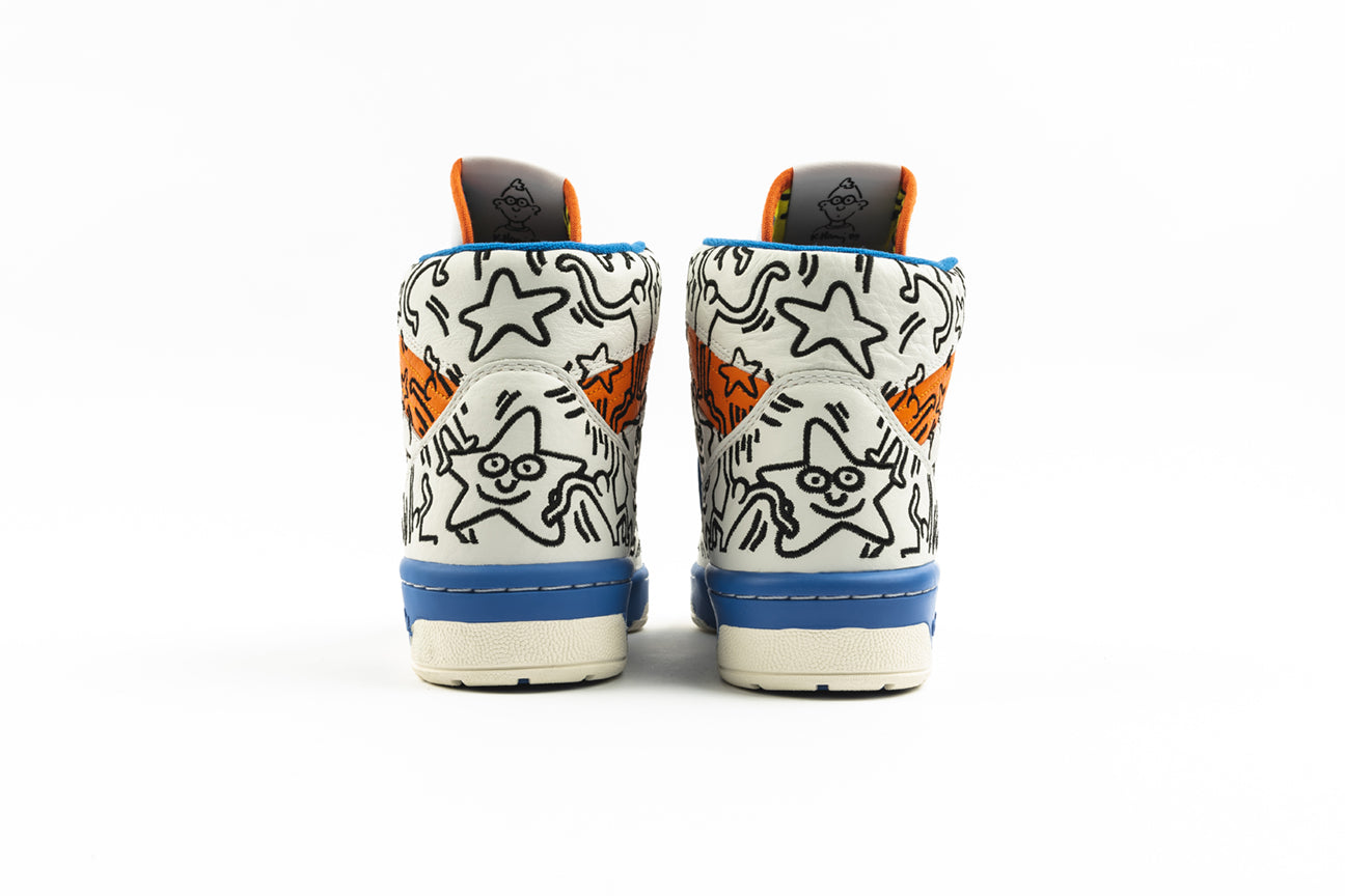 "ADIDAS ORIGINALS  RIVALRY HI ""KEITH HARING"""