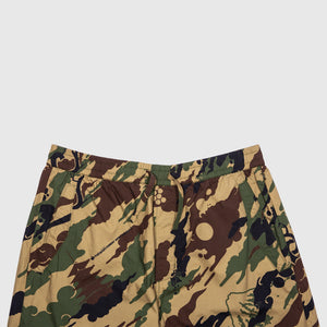 MAHARISHI CAMO LOOSE WOVEN TRACKPANTS