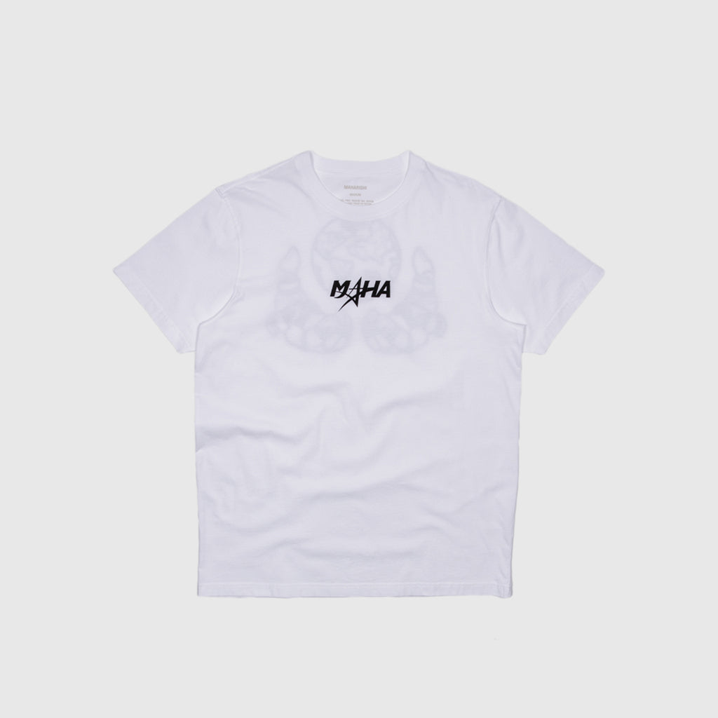 MAHARISHI GLOBAL GRIP PRINT S/S T-SHIRT