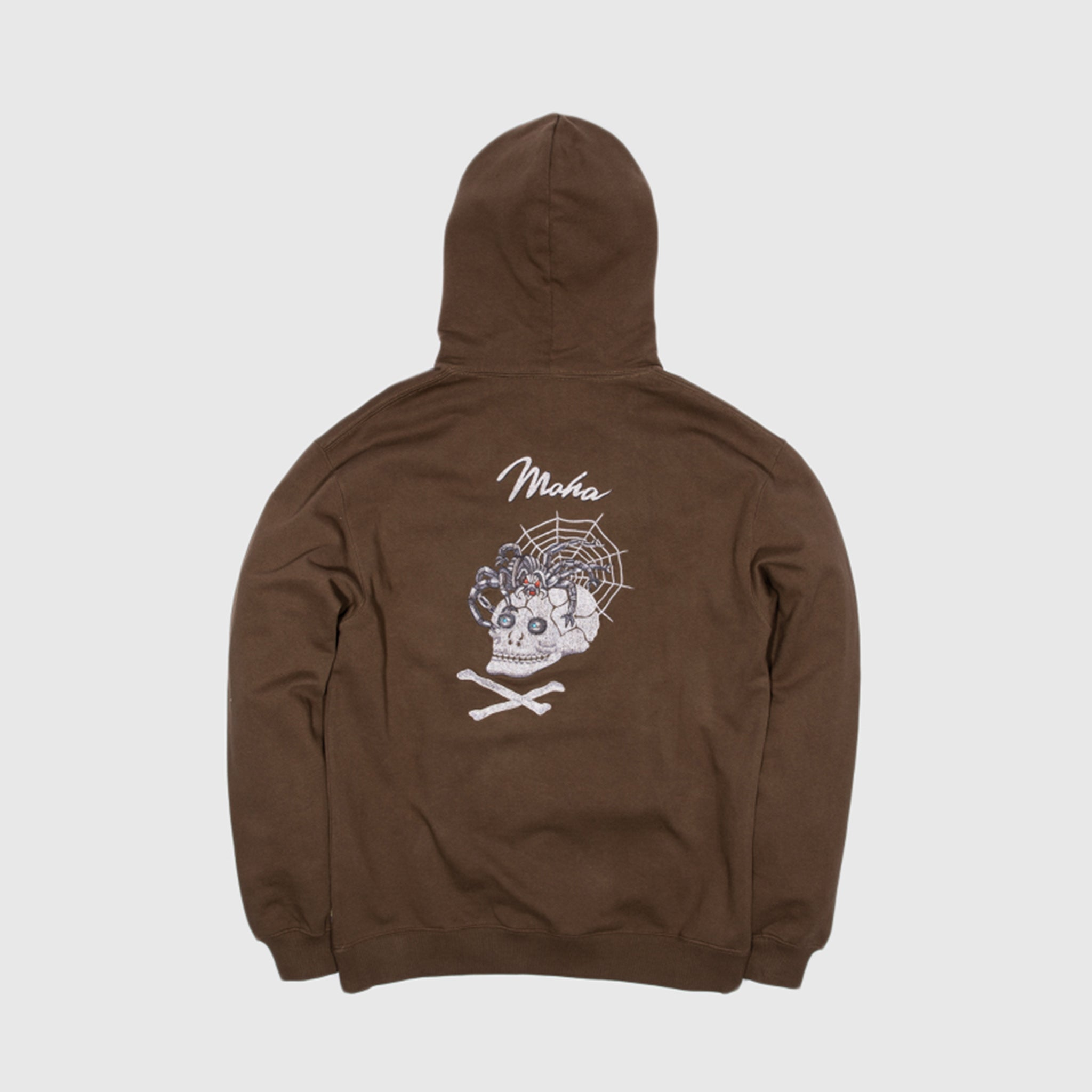MAHARISHI SKULL TOUR ORGANIC HOODED SWEATSHIRT