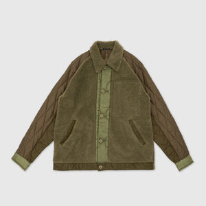 MAHARISHI UPCYCLED GRIZZLY JACKET VINTAGE SURPLUS