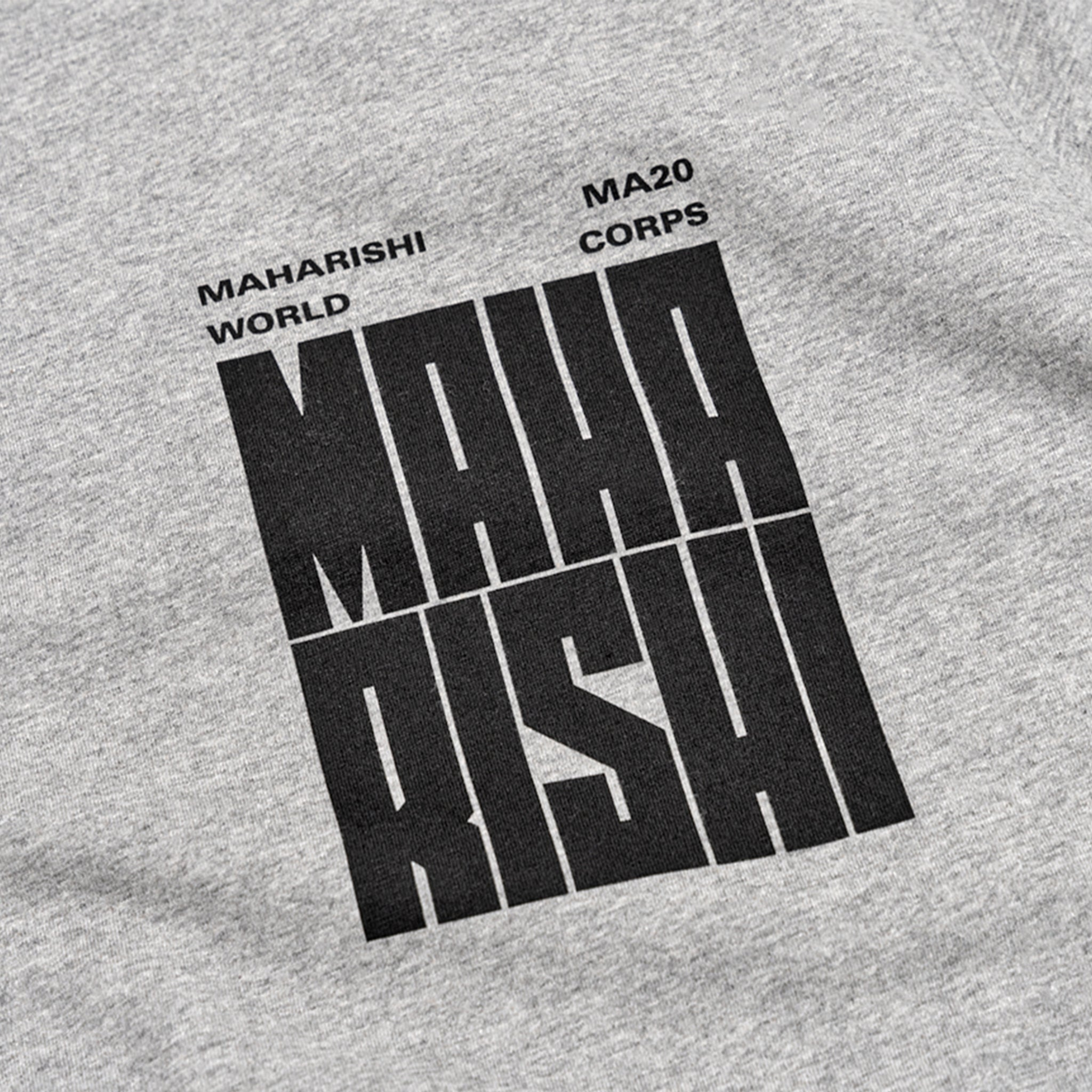 MAHARISHI WORLD CORPS S/S T-SHIRT