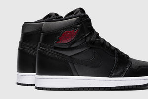 "AIR JORDAN 1 HIGH OG ""BLACK SATIN"""