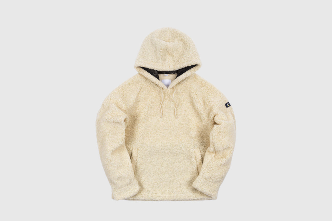 NAPA BY MARTINE ROSE T-CAMERON FLEECE HOODY