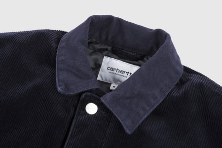 CARHARTT WIP MICHIGAN CORDUROY CHORE COAT (WINTER)