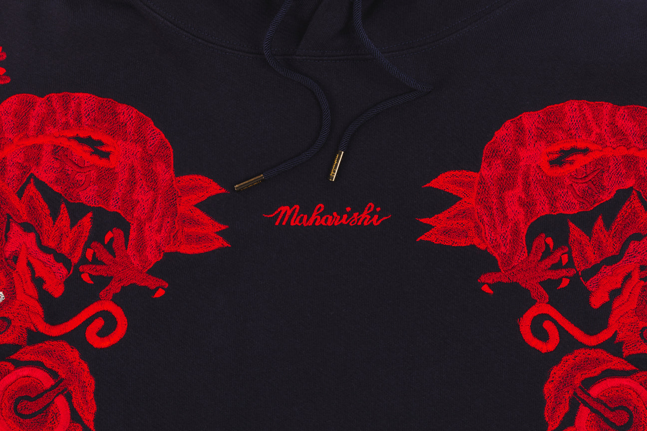 MAHARISHI ORIGINAL DRAGON HOODY