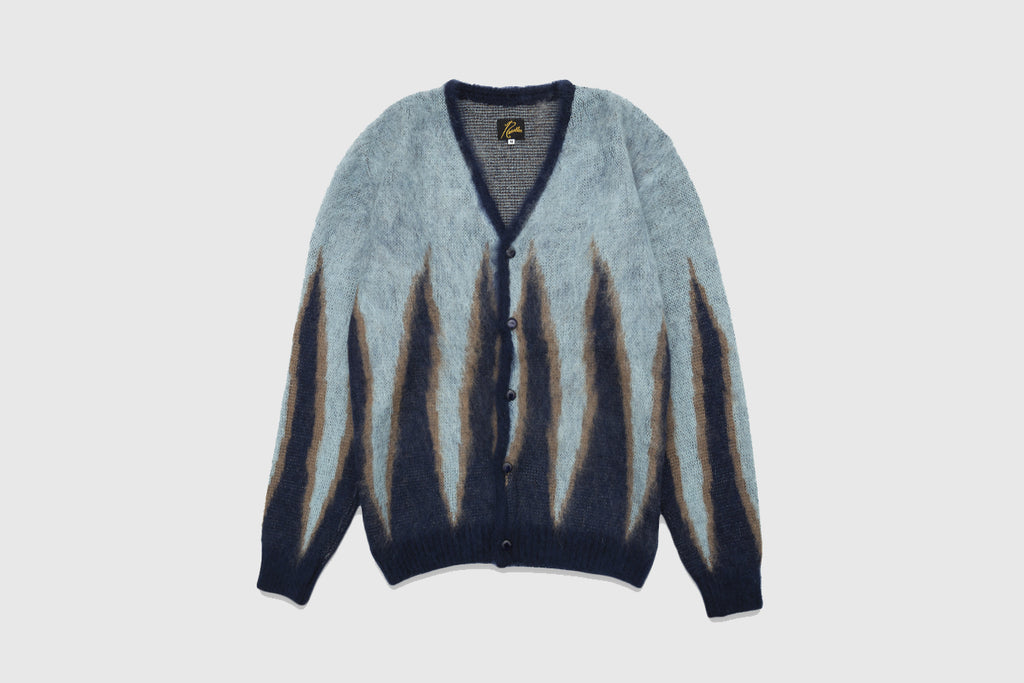 NEEDLES MOHAIR FLAME CARDIGAN