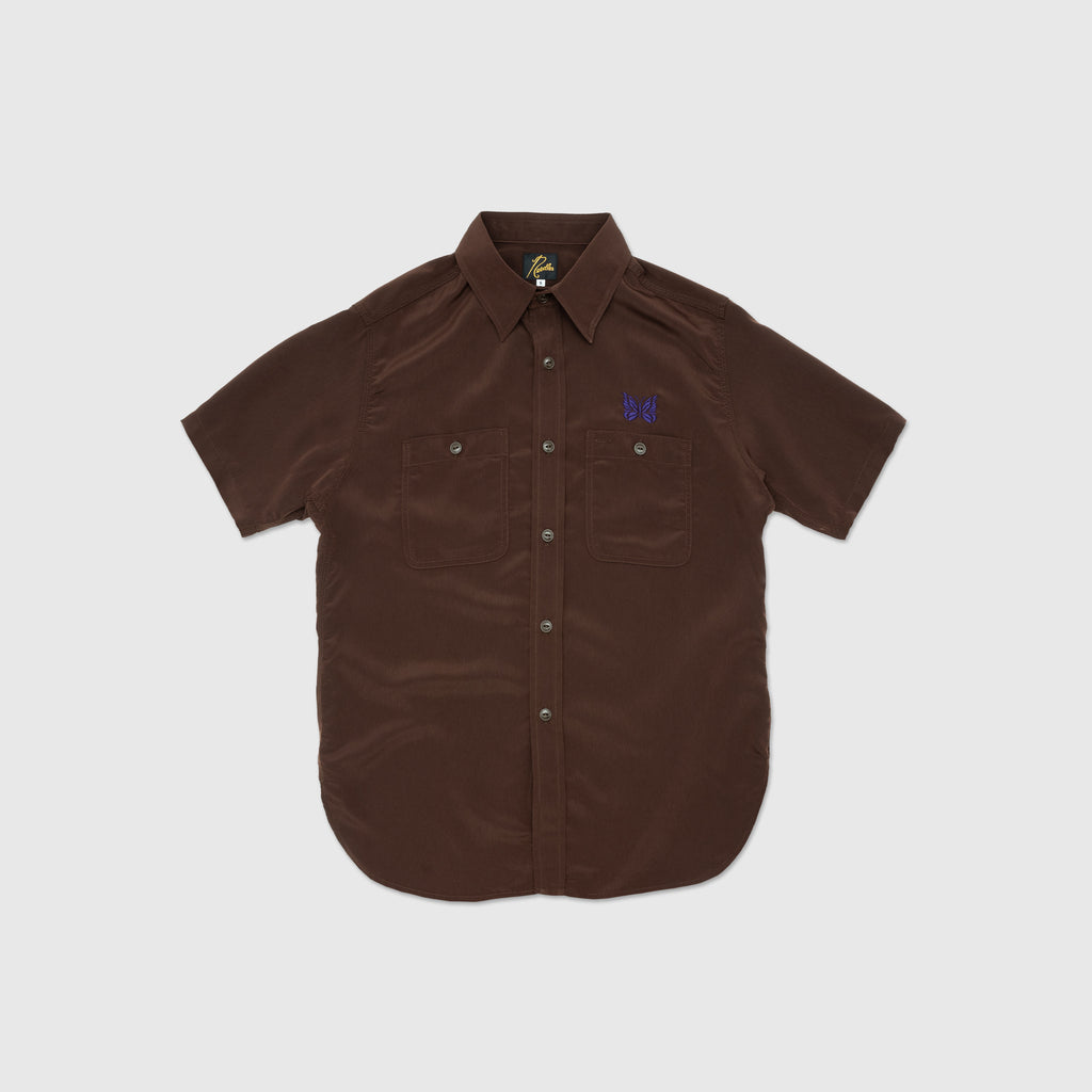 NEEDLES S/S WORK SHIRT