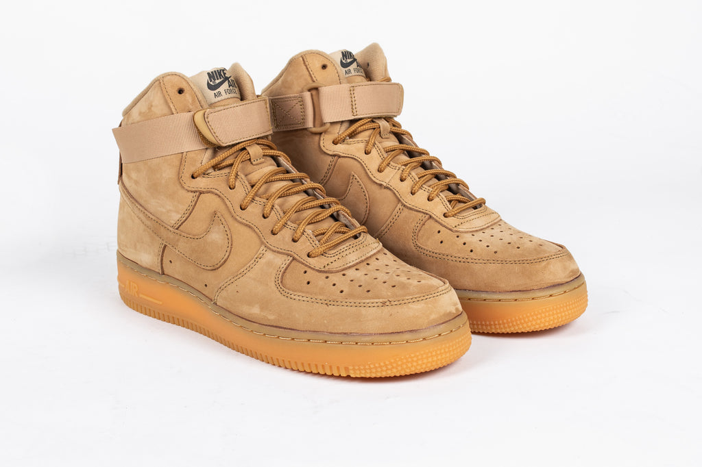 "AIR FORCE 1 HIGH '07 LV8 WB ""FLAX"""