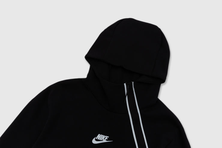 "NIKE TECH PACK HALF ZIP PULLOVER HOOD ""BLACK"""