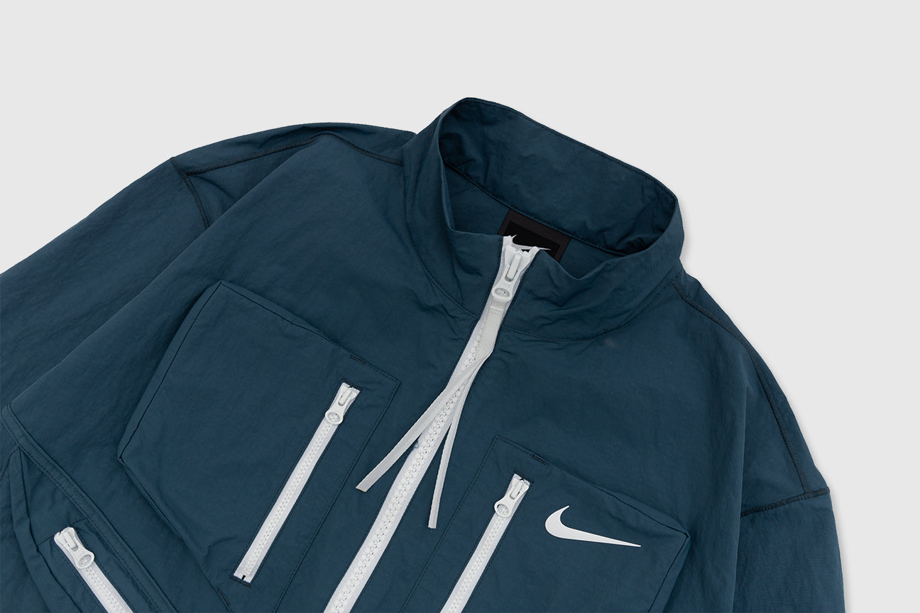 "NIKE WMNS TECH PACK FULL ZIP NYLON JACKET ""ASH GREEN"""