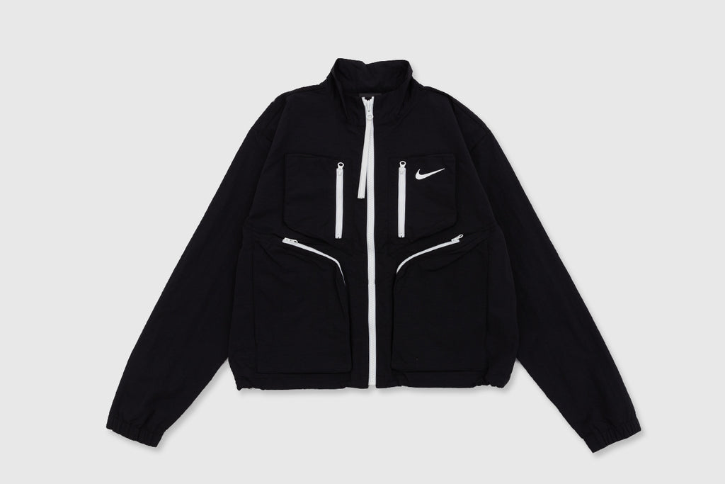 "NIKE WMNS TECH PACK FULL ZIP NYLON JACKET ""BLACK"""