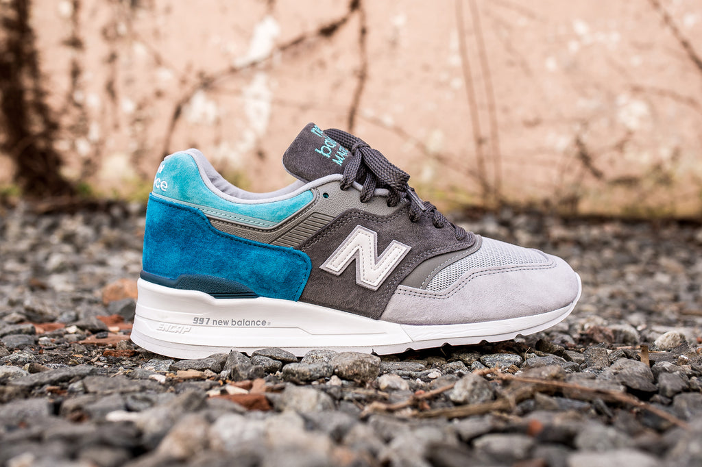 NEW BALANCE M997 COLOR SPECTRUM - CASTLEROCK/LAKE BLUE