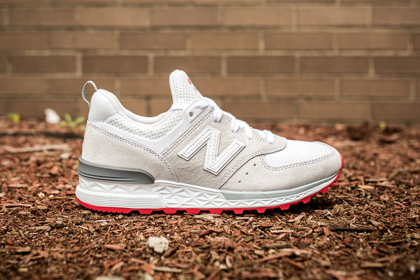 NEW BALANCE WOMENS WS574TO - WHITE/CREAM/GREY