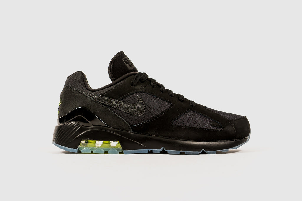 "NIKE AIR MAX 180 ""BLACK VOLT"""