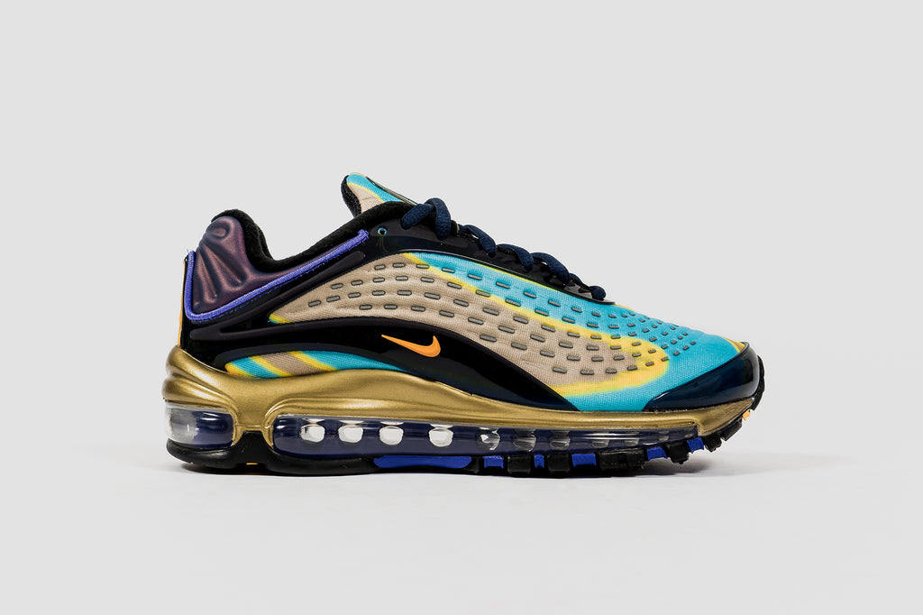 "NIKE W' AIR MAX DELUXE ""NAVY AND LASER ORANGE"""