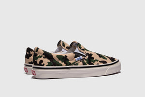 "VANS CLASSIC SLIP-ON 98 DX (ANAHEIM FACTORY) ""OG CAMO"""