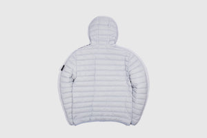 STONE  ISLAND LOOM WOVEN HOODED DOWN STRETCH NYLON-TC JACKET