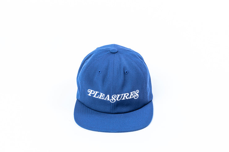 PLEASURES SMITH LOGO SNAP-BACK