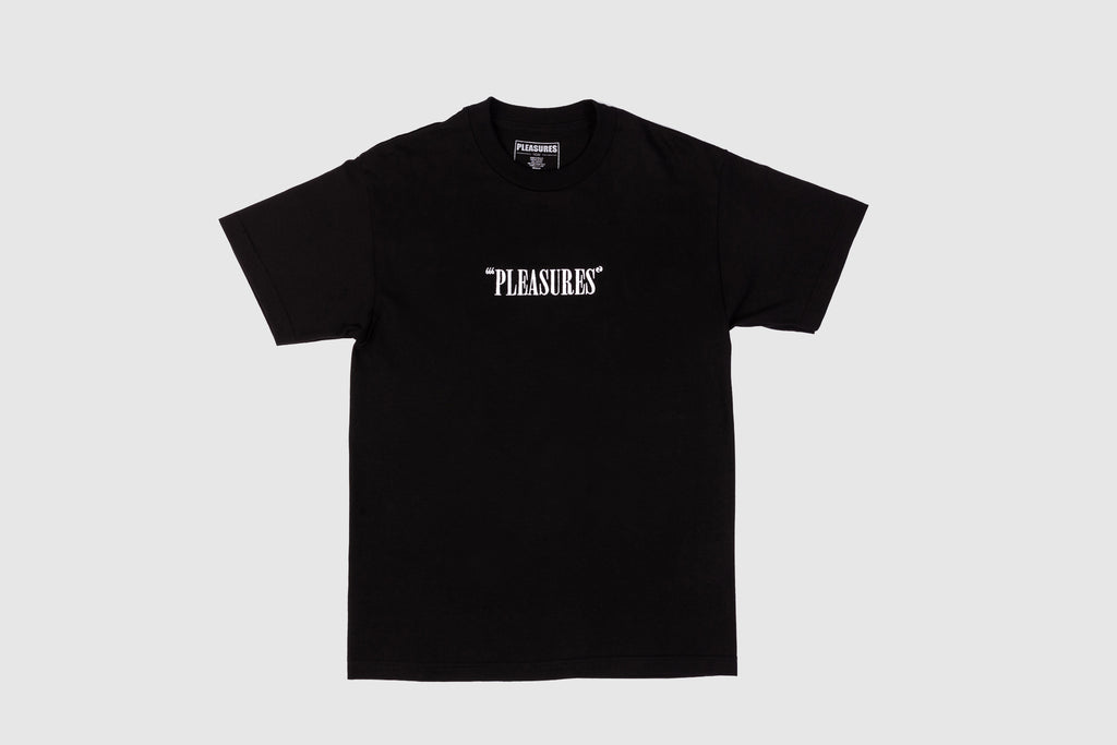 PLEASURES CORE LOGO S/S T-SHIRT