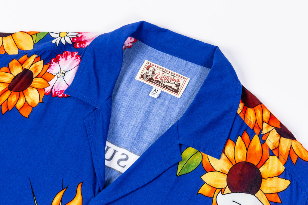 PLEASURES GANGSTER S/S BUTTON UP