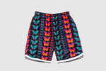 PLEASURES BUTTERFLY BASKETBALL SHORTS