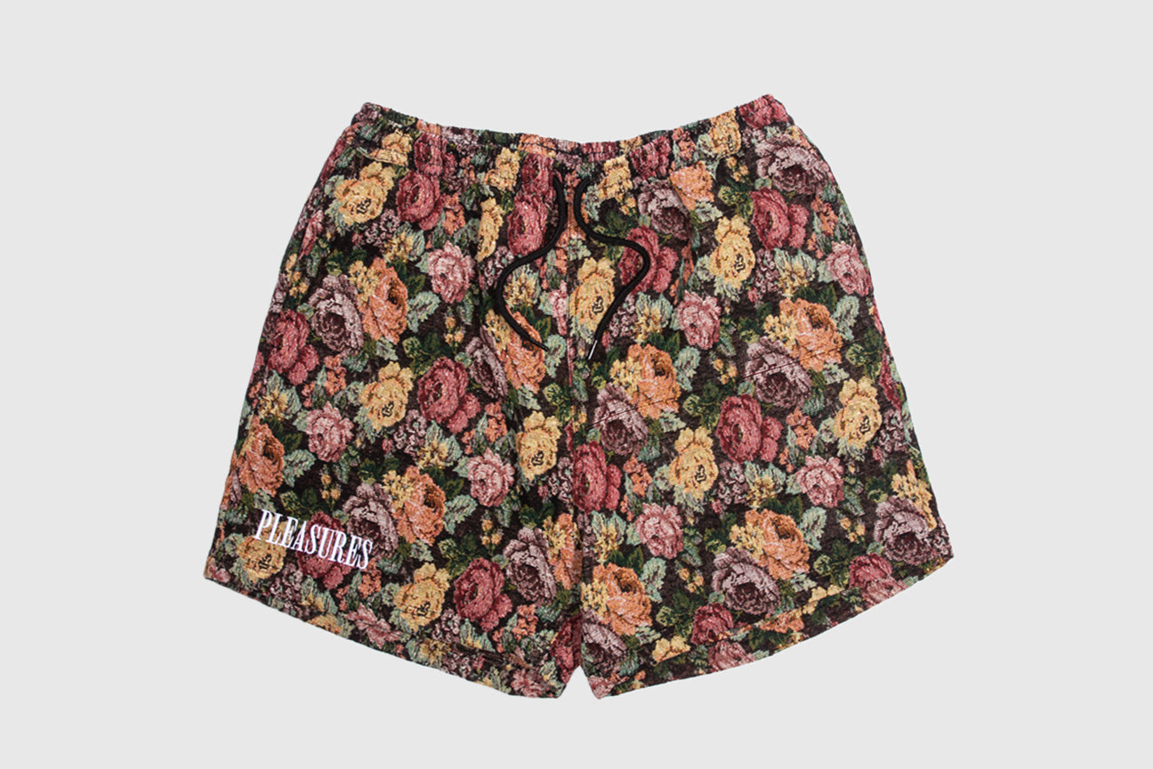 PLEASURES FLORAL WOVEN SHORTS