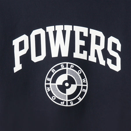 POWERS COLLEGE ARCH CREWNECK SWEATSHIRT