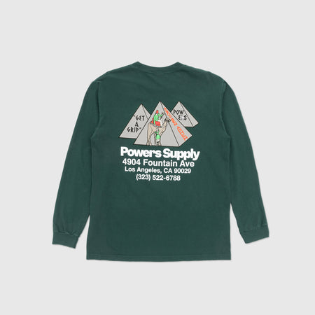 POWERS GET A GRIP L/S T-SHIRT